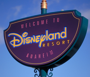 Disneyland Resort Sign