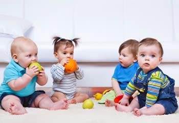 Four infants