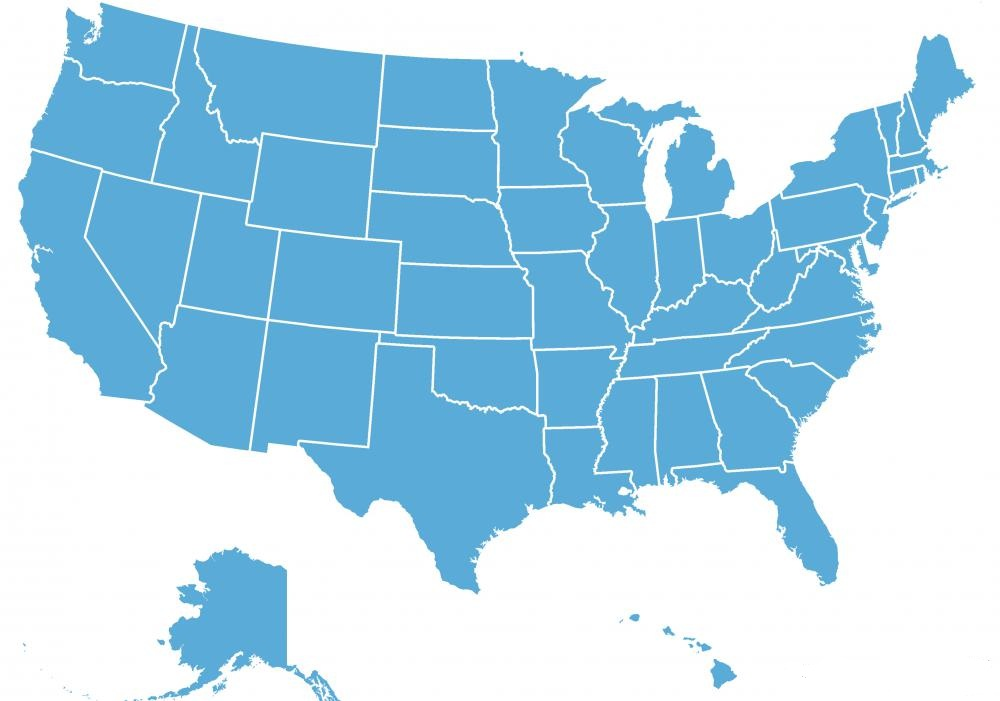Map of the US Image