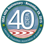 IDEA 40th Logo