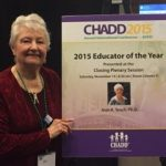 Dr. Joan Teach receives 2015 Educator of the Year from CHADD