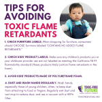 Major New Warning: Toxic Flame Retardants