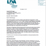 LDA Submits Comments to U.S. Secretary of Education