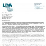LDA Statement on School Safety