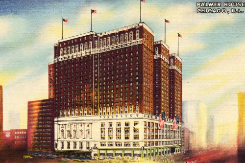 Illustration of the Chicago Palmer House