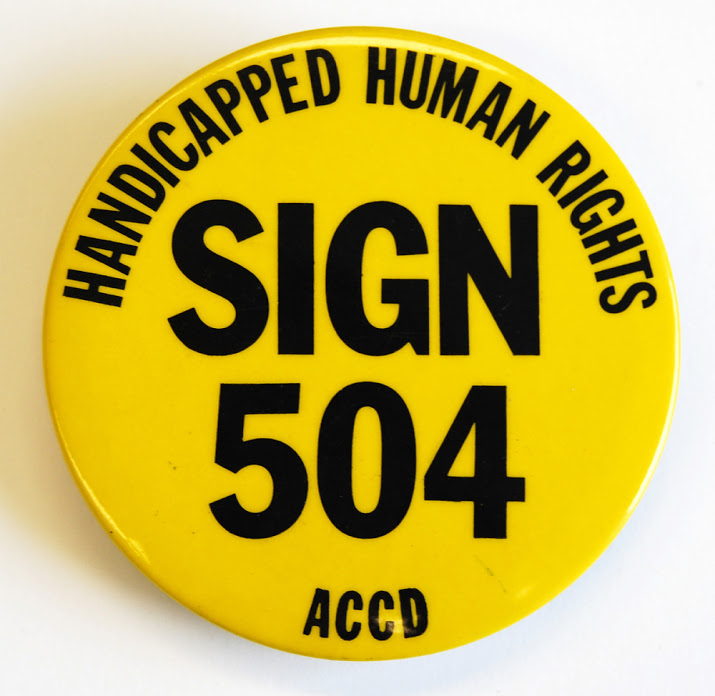 Sign 504 Button