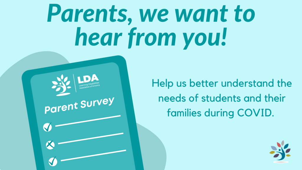 Parents, we want to hear from you! Help us better understand the needs of students and their families during COVID.
